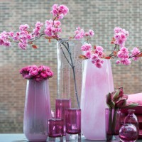 Glas Vasen von Dutz