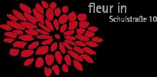 Fleur in Blumengeschäft Logo
