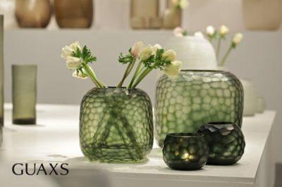 Guaxs vase grün