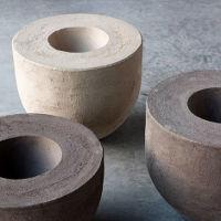 Keramik Vase Vierkant