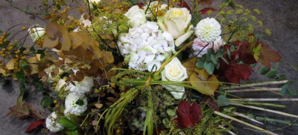 Blumen für Traueranlässe